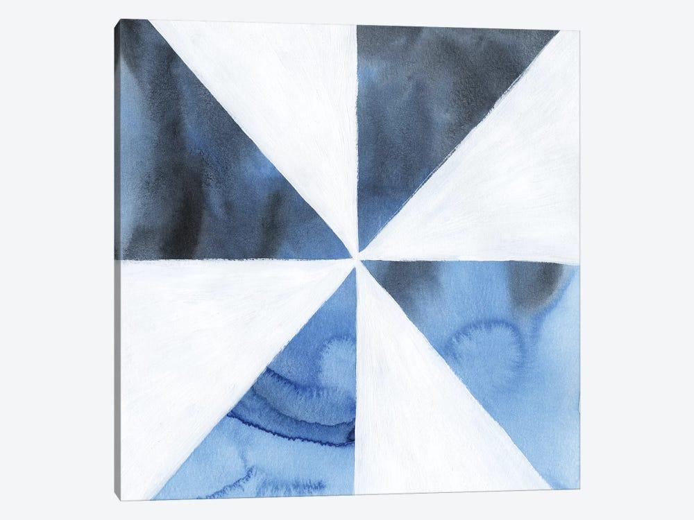 Blue Screen I by Grace Popp 1-piece Canvas Artwork