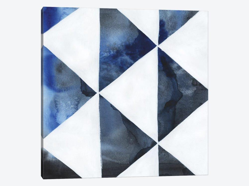 Blue Screen III by Grace Popp 1-piece Canvas Wall Art