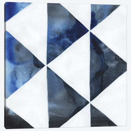 Blue Screen III Canvas Print #POP1119} by Grace Popp Canvas Print