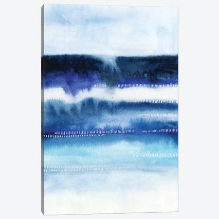 Shorebreak Abstract I Canvas Print #POP111} by Grace Popp Canvas Artwork