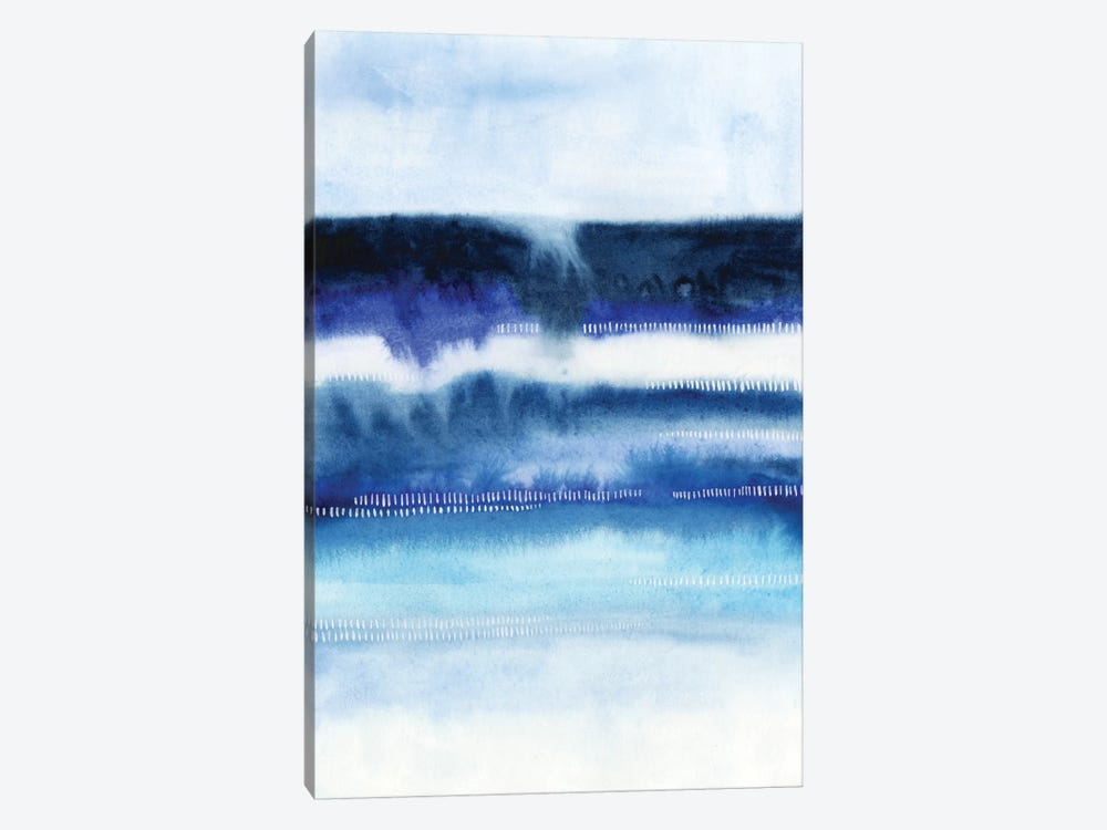 Shorebreak Abstract I 1-piece Canvas Print