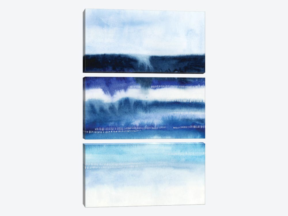 Shorebreak Abstract I 3-piece Art Print