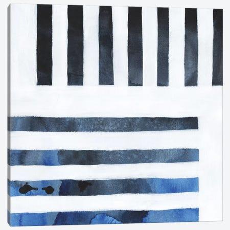 Blue Screen IV Canvas Print #POP1120} by Grace Popp Canvas Artwork