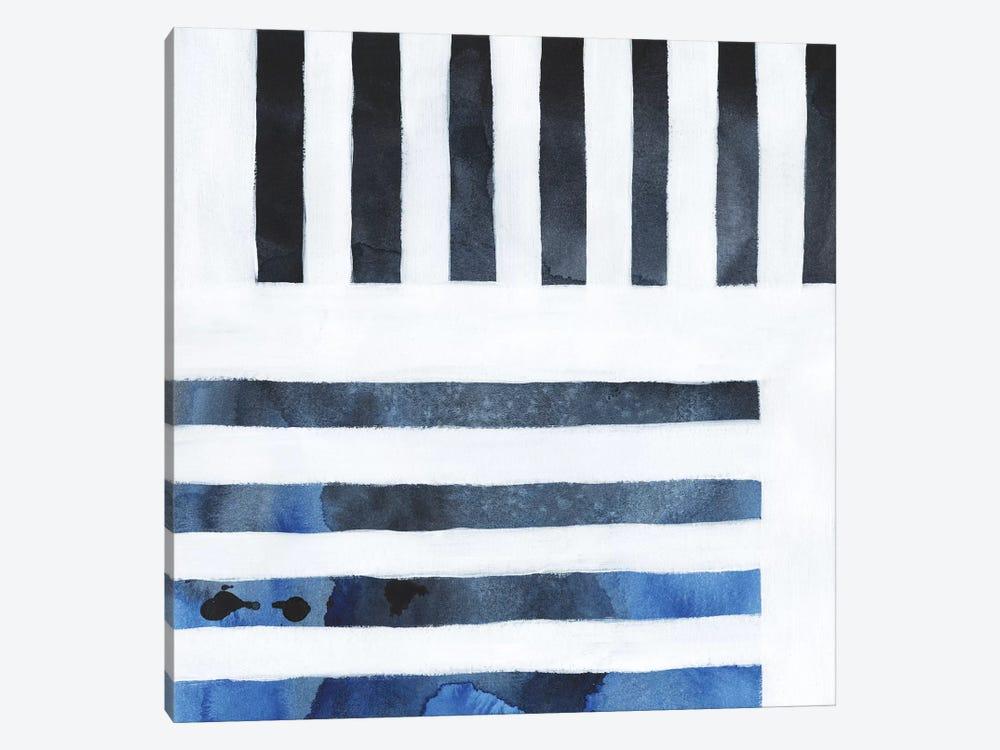 Blue Screen IV by Grace Popp 1-piece Canvas Artwork