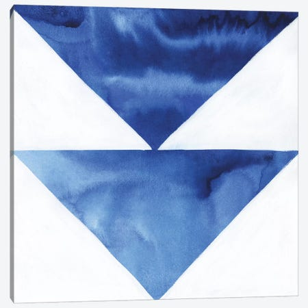 Blue Screen VI 3-Piece Canvas #POP1122} by Grace Popp Canvas Wall Art