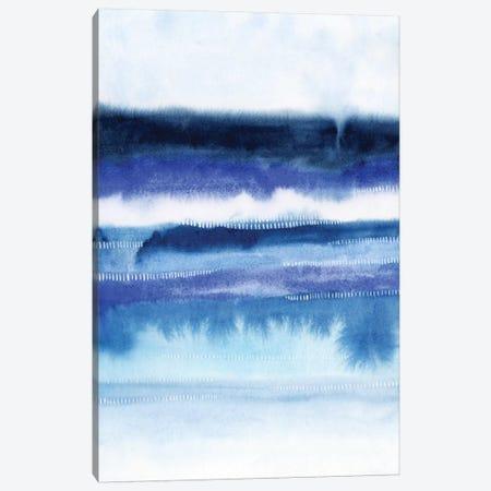 Shorebreak Abstract II 3-Piece Canvas #POP112} by Grace Popp Canvas Art
