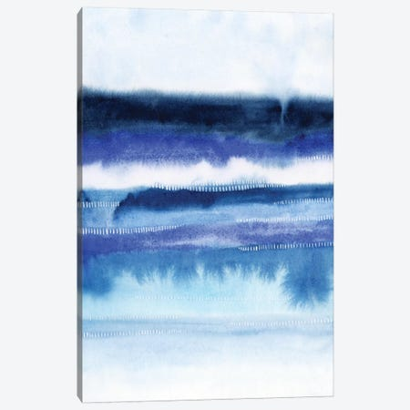 Shorebreak Abstract II Canvas Print #POP112} by Grace Popp Canvas Art