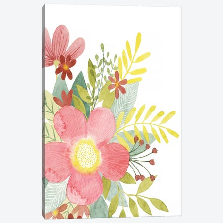 Colossal Florals I Canvas Print #POP1139} by Grace Popp Canvas Print