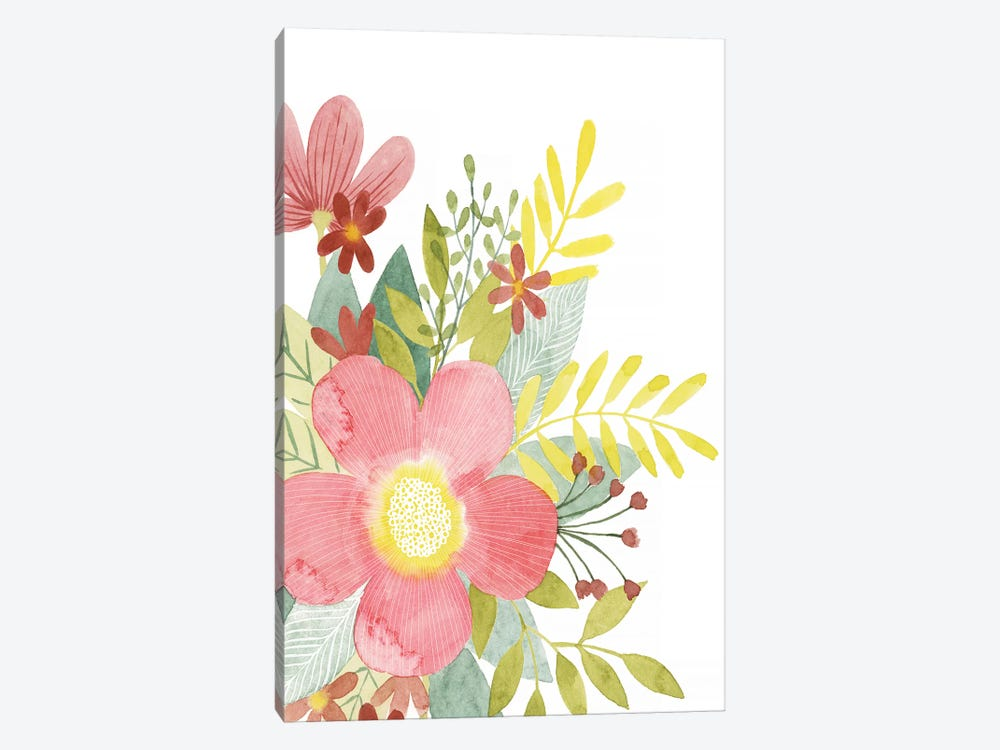 Colossal Florals I by Grace Popp 1-piece Canvas Art
