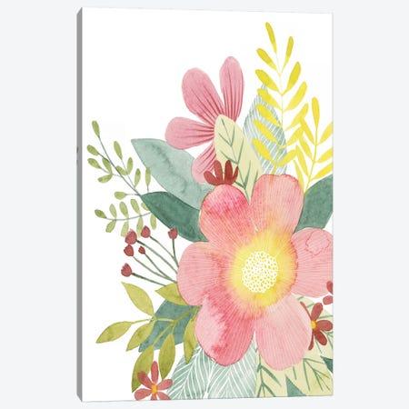 Colossal Florals II Canvas Print #POP1140} by Grace Popp Canvas Art