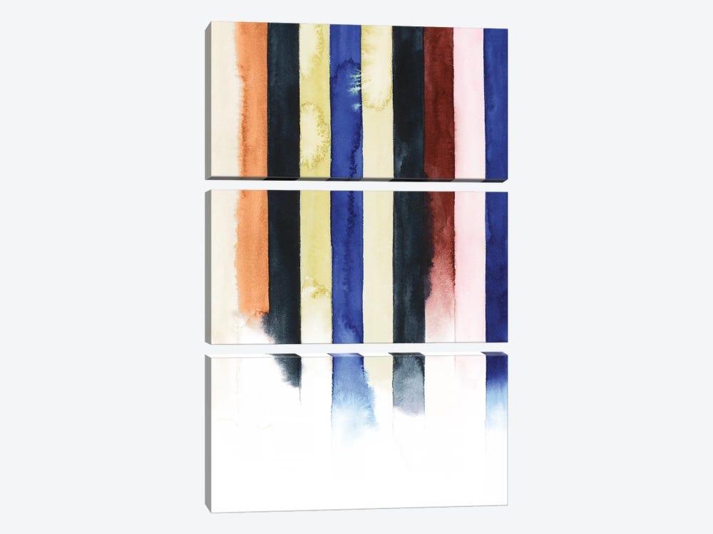 Desert Layers IV by Grace Popp 3-piece Canvas Wall Art