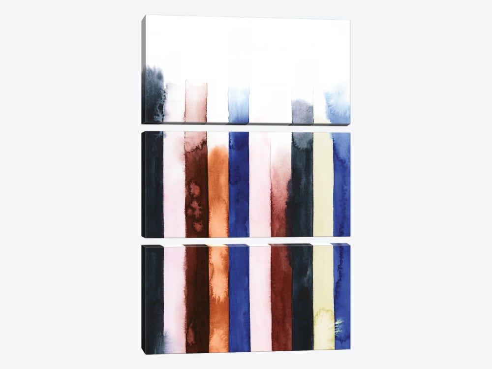 Desert Layers V by Grace Popp 3-piece Canvas Print
