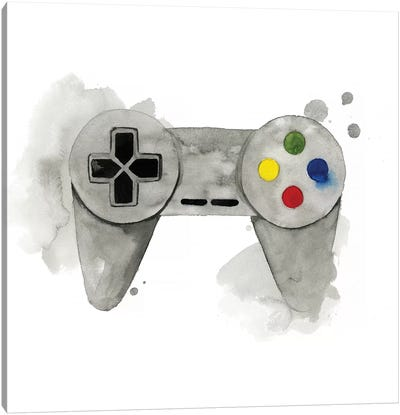 Gamer III Canvas Art Print