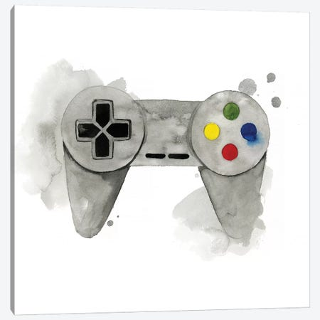 Gamer III Canvas Print #POP1154} by Grace Popp Canvas Art