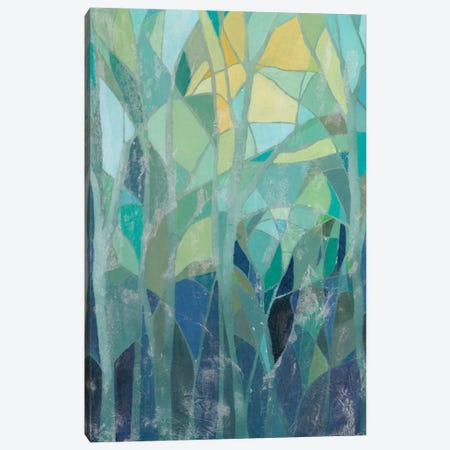 Stained Glass Forest I Canvas Print #POP115} by Grace Popp Canvas Print