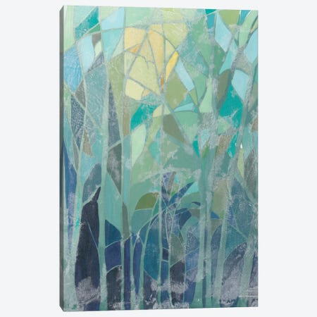 Stained Glass Forest II Canvas Print #POP116} by Grace Popp Canvas Print