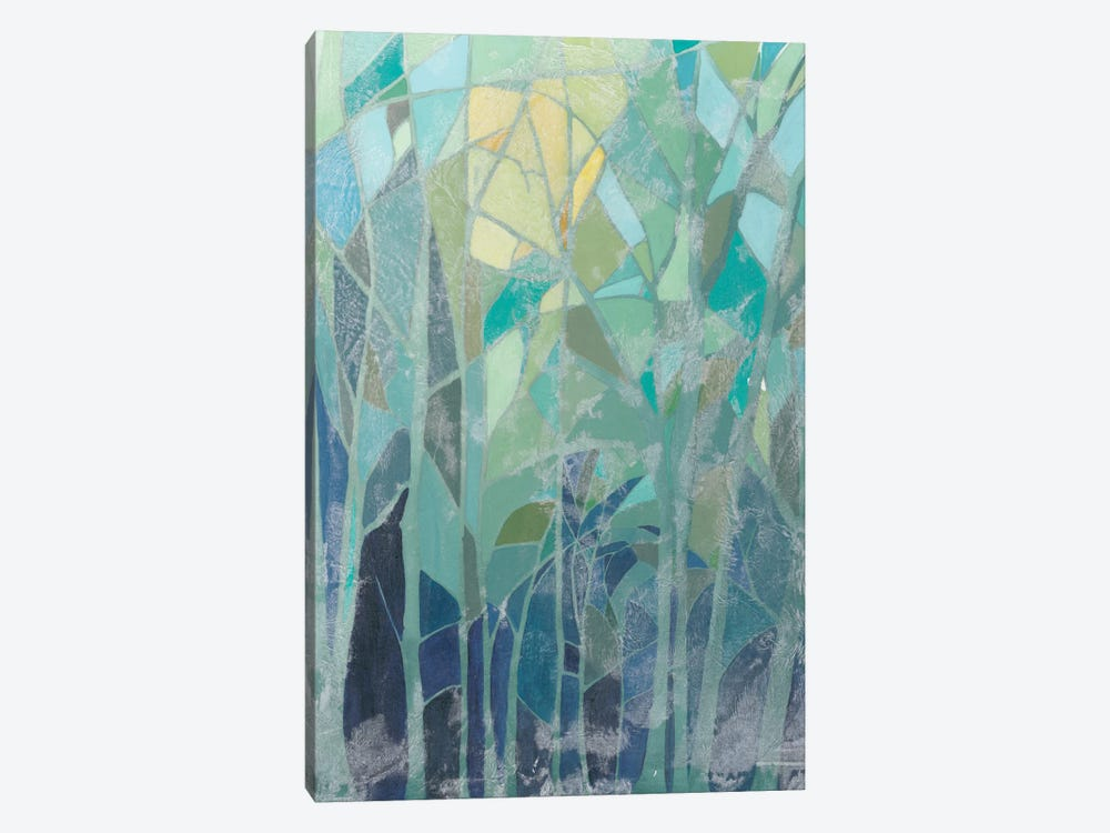 Stained Glass Forest II by Grace Popp 1-piece Canvas Wall Art