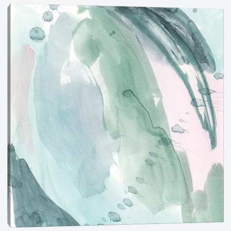 Pastel Scribe I Canvas Print #POP1178} by Grace Popp Canvas Print