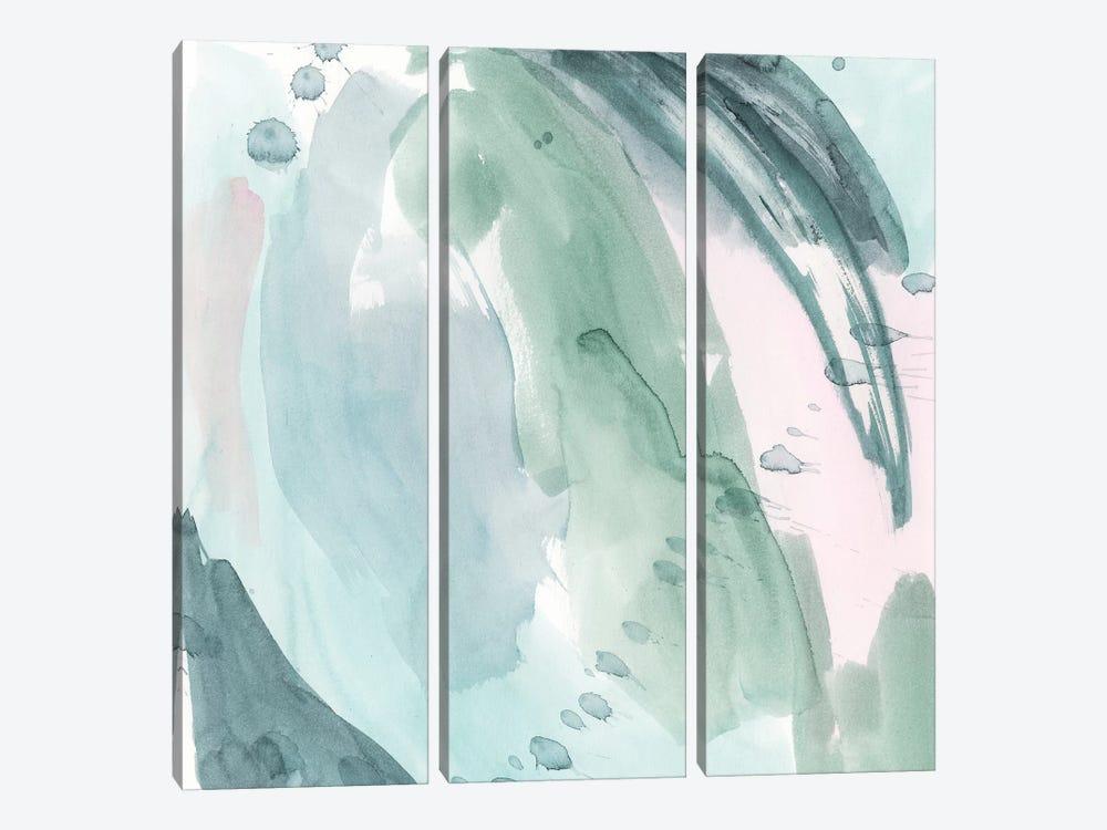 Pastel Scribe I by Grace Popp 3-piece Canvas Print