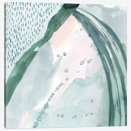 Pastel Scribe II Canvas Print #POP1179} by Grace Popp Canvas Art Print