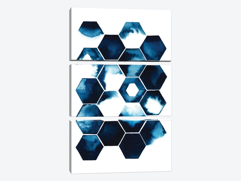 Stormy Geometry I by Grace Popp 3-piece Art Print