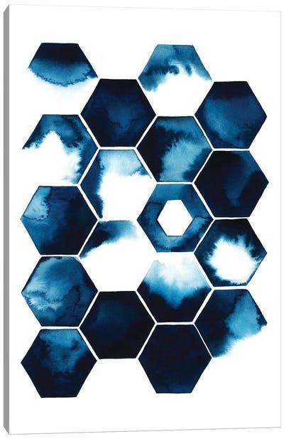 Stormy Geometry I Canvas Print #POP117
