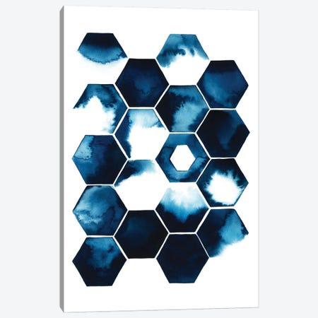 Stormy Geometry I Canvas Print #POP117} by Grace Popp Canvas Art Print