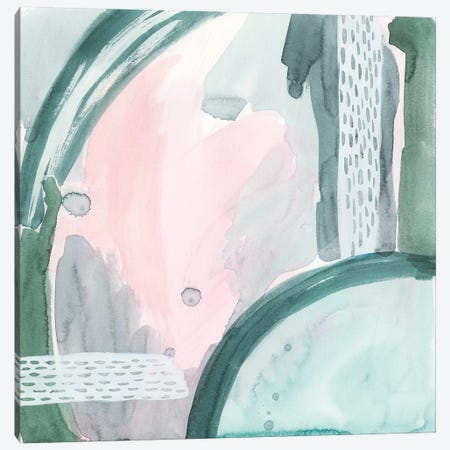 Pastel Scribe VI Canvas Print #POP1183} by Grace Popp Canvas Artwork