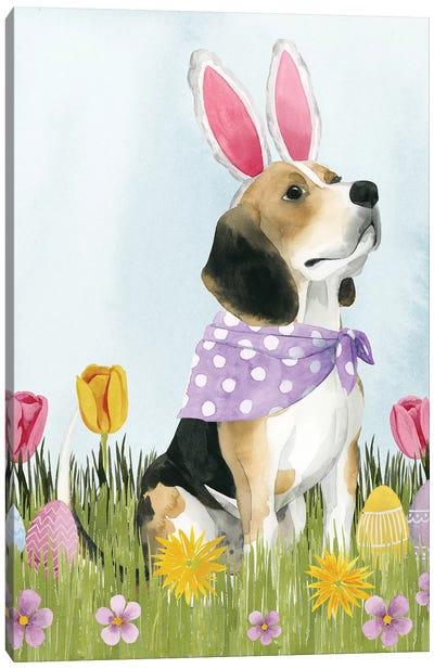 Puppy Easter II Canvas Art Print