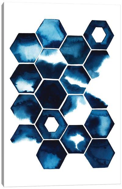 Stormy Geometry II Canvas Art Print