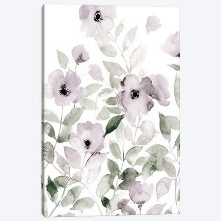 Wild Roses I Canvas Print #POP1203} by Grace Popp Canvas Print