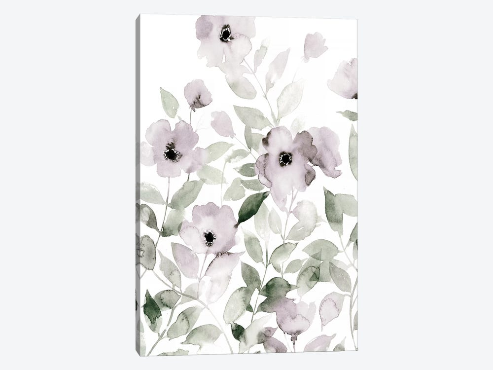 Wild Roses I by Grace Popp 1-piece Canvas Art Print