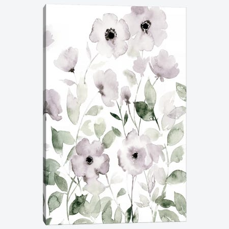Wild Roses II Canvas Print #POP1204} by Grace Popp Canvas Artwork