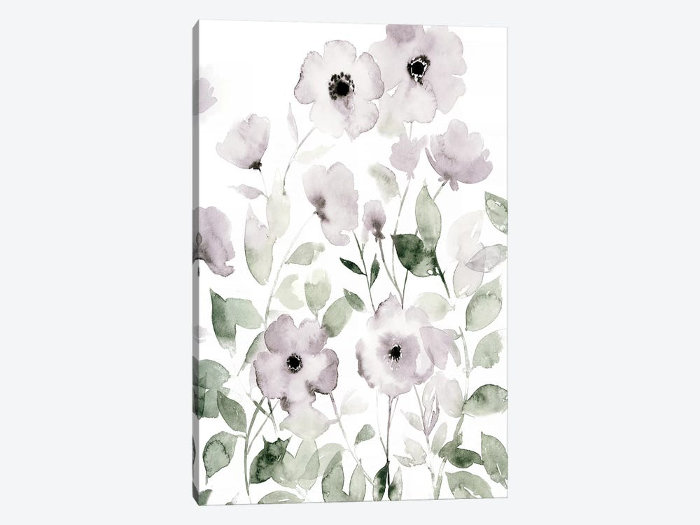 Wild Roses II 1-piece Canvas Wall Art