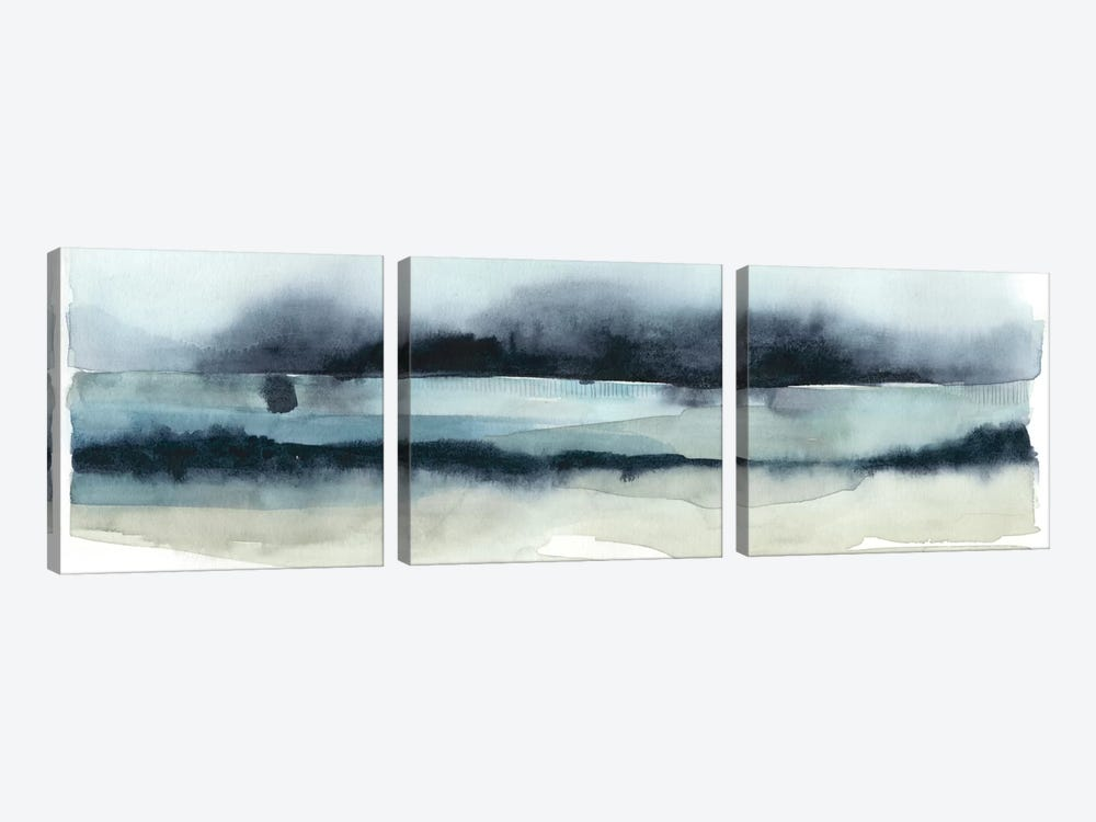 Stormy Sea II by Grace Popp 3-piece Canvas Print
