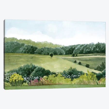 Idyllic Sunday I Canvas Print #POP1213} by Grace Popp Canvas Art
