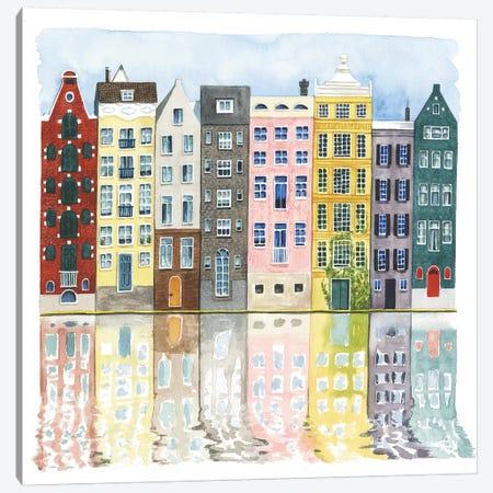 Neighborhood II Canvas Print #POP1224} by Grace Popp Canvas Artwork