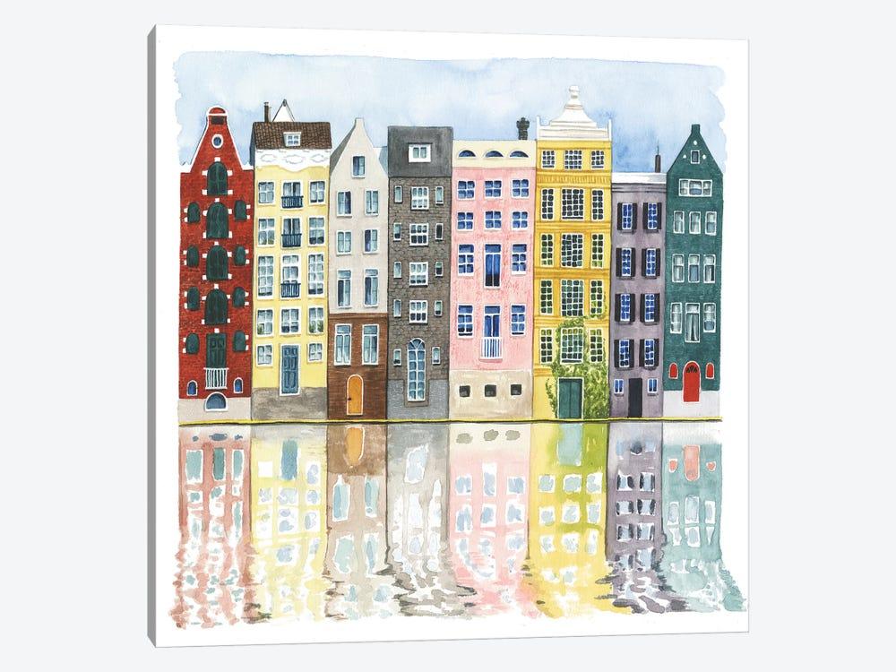 Neighborhood II by Grace Popp 1-piece Canvas Artwork
