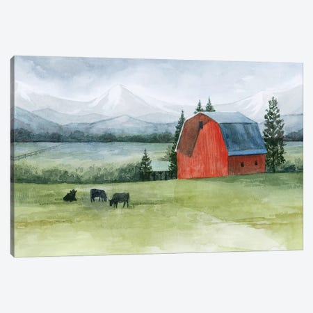 Valley Herd I Canvas Print #POP1227} by Grace Popp Canvas Art