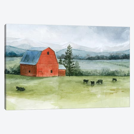 Valley Herd II Canvas Print #POP1228} by Grace Popp Canvas Art Print