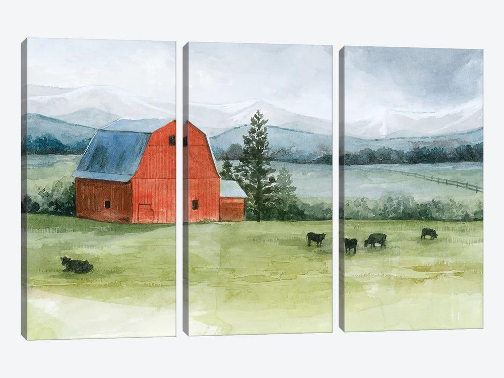 Valley Herd II by Grace Popp 3-piece Canvas Wall Art