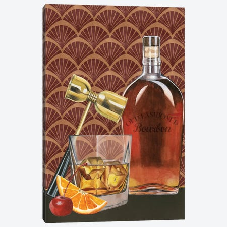 Bar Gatsby II Canvas Print #POP1238} by Grace Popp Canvas Artwork