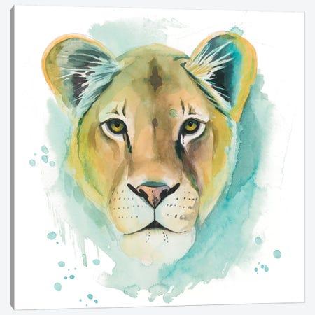 Chromatic Cats I Canvas Print #POP1249} by Grace Popp Art Print