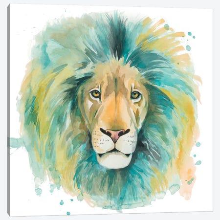 Chromatic Cats II Canvas Print #POP1250} by Grace Popp Canvas Art