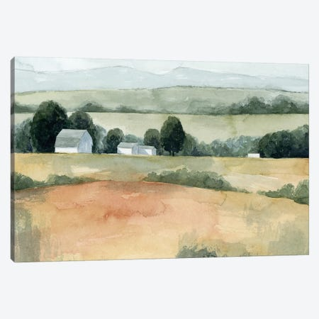 Family Farm I Canvas Print #POP1259} by Grace Popp Canvas Artwork