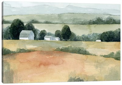 Family Farm I Canvas Art Print