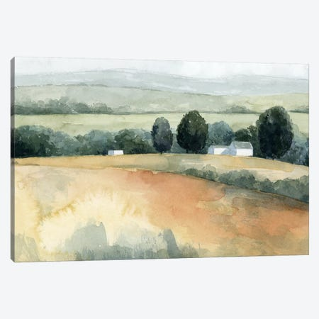 Family Farm II Canvas Print #POP1260} by Grace Popp Canvas Print