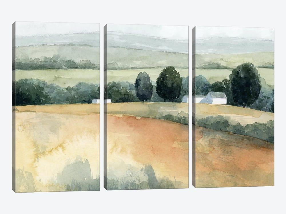 Family Farm II by Grace Popp 3-piece Canvas Art