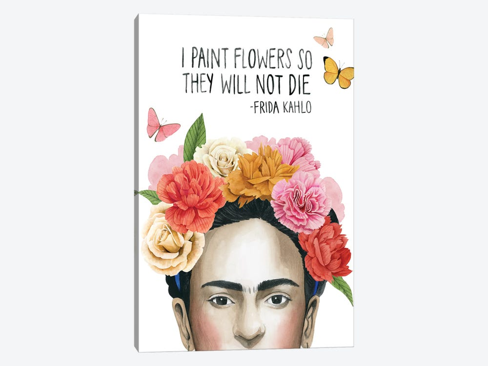 Frida's Flowers II by Grace Popp 1-piece Canvas Artwork