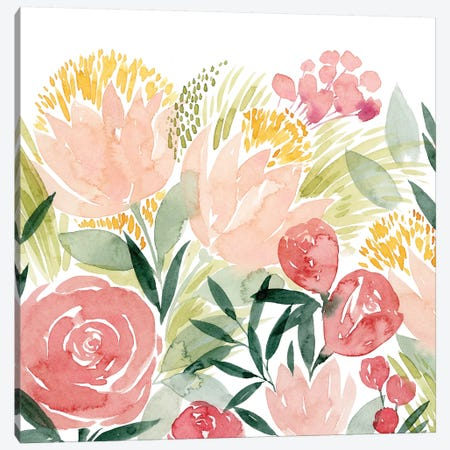 Sunkissed Posies I Canvas Print #POP1286} by Grace Popp Canvas Art